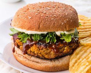 receta de hamburguesas de lentejas y garbanzos 2d